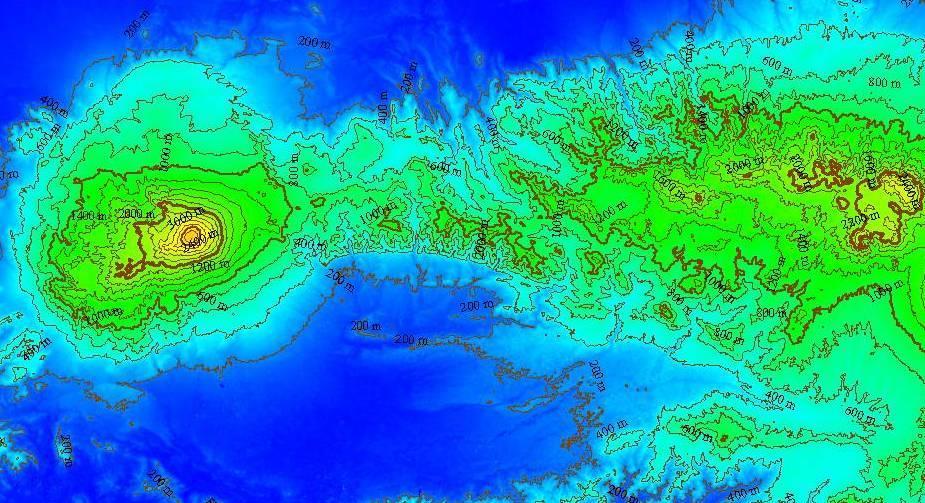 Spatial Digital Map Download Gratis Kontur Pulau Jawa Data Bermanfaat